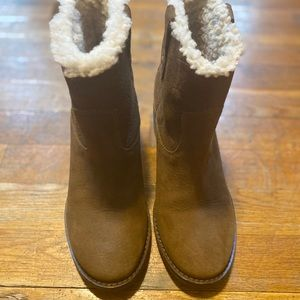 COLE HAAN wedge boots